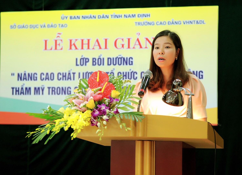 ThS Nguyễn Thị Thúy Hoa - Phó HT
